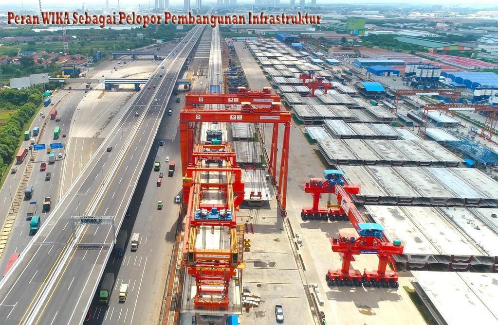 Peran WIKA Sebagai Pelopor Pembangunan Infrastruktur